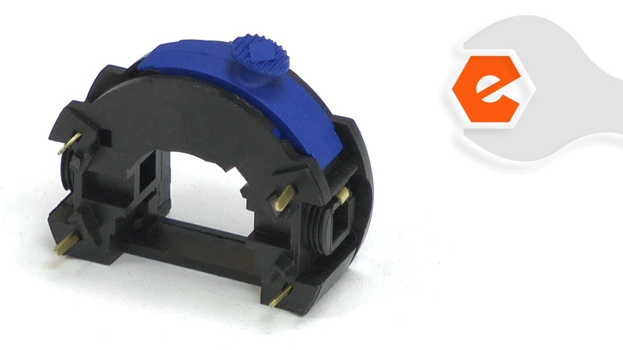 rotary tool repair replacing the switch dremel part 2610013852  [ 1280 x 720 Pixel ]