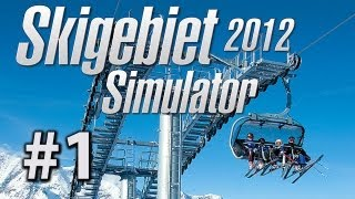 Skigebiet - Simulator - Let's Play Skigebiet Simulator 2012 #1 - Simulator Spiele im Gameplay-Marathon
