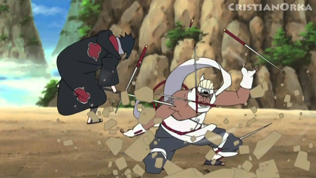 [AMV] Sasuke vs Killer Bee - YouTube