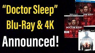 """doctor Sleep"" (2019) Blu Ray & 4k Announced!"
