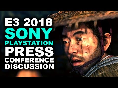 Sony Playstation E3 2018 Press Conference Discussion | GHOST OF TSUSHIMA! - Khan's Kast