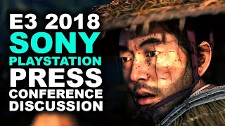 Sony Playstation E3 2018 Press Conference Discussion   GHOST OF TSUSHIMA! - Khan