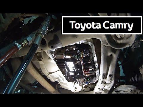 Toyota Camry  V50 2.5 литра. Полная ЗАМЕНА МАСЛА в АКПП.