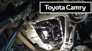 Toyota Camry  V50 2.5 литра. Полная ЗАМЕНА МАСЛА в АКПП.(, 2016-12-11T06:17:45.000Z)