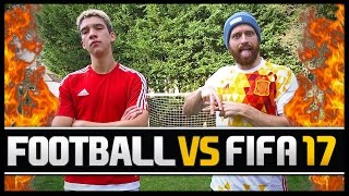 Video FOOTBALL VS FIFA WITH ELLIOT CRAWFORD! download MP3, 3GP, MP4, WEBM, AVI, FLV Agustus 2018