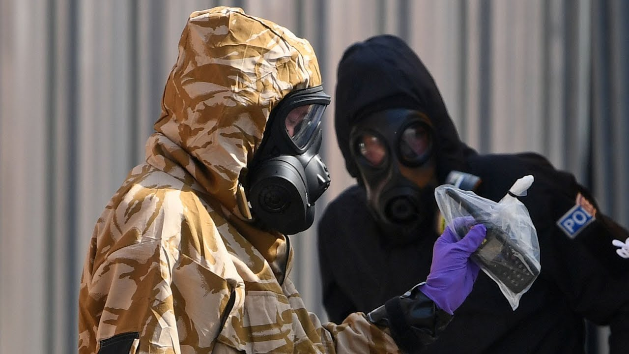 Reports that U.K nerve-agent attack suspects ID'd