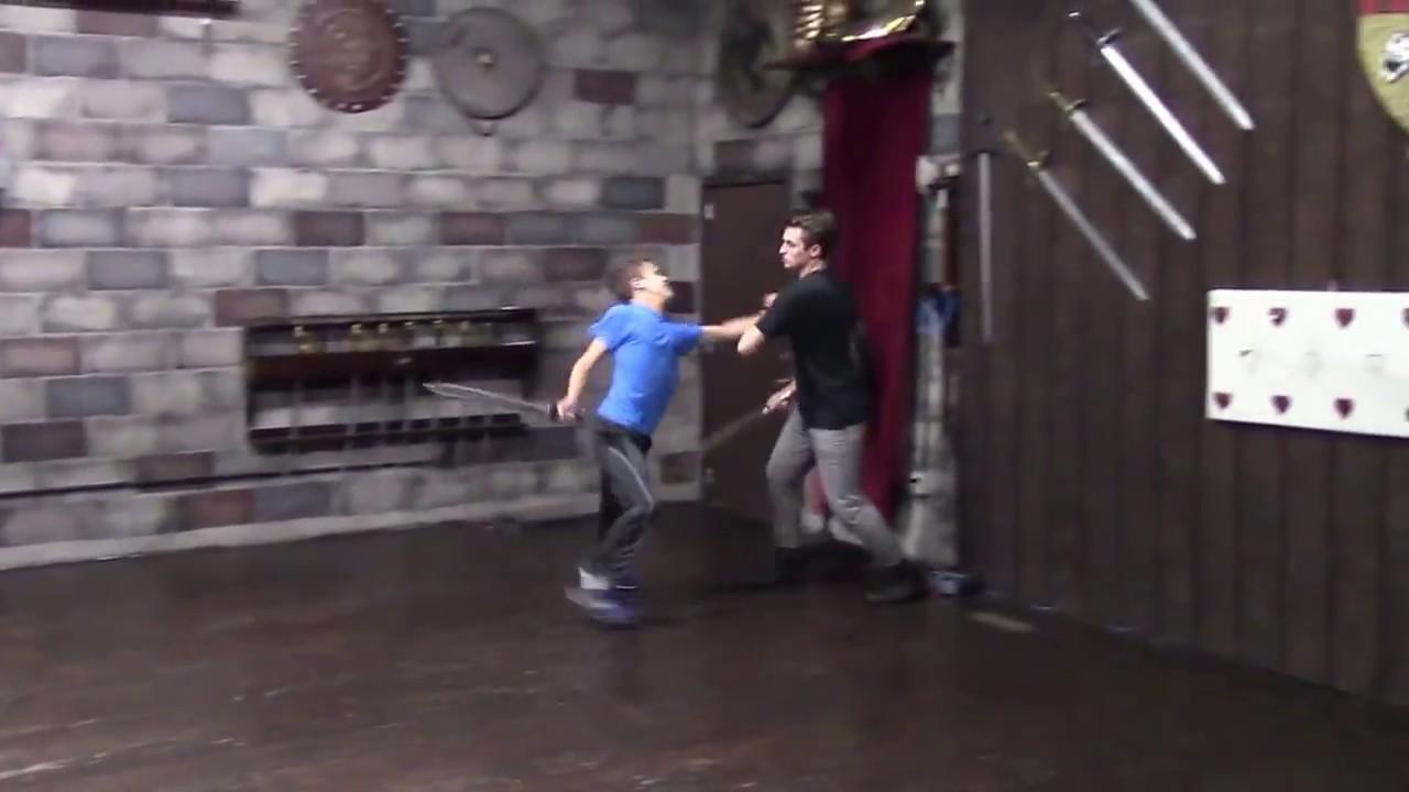 Conner Stevens Stage Combat Short Sword Certification Scene Youtube