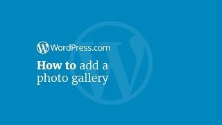 WordPress-Tutorial: so Fügen Sie eine Foto-Galerie