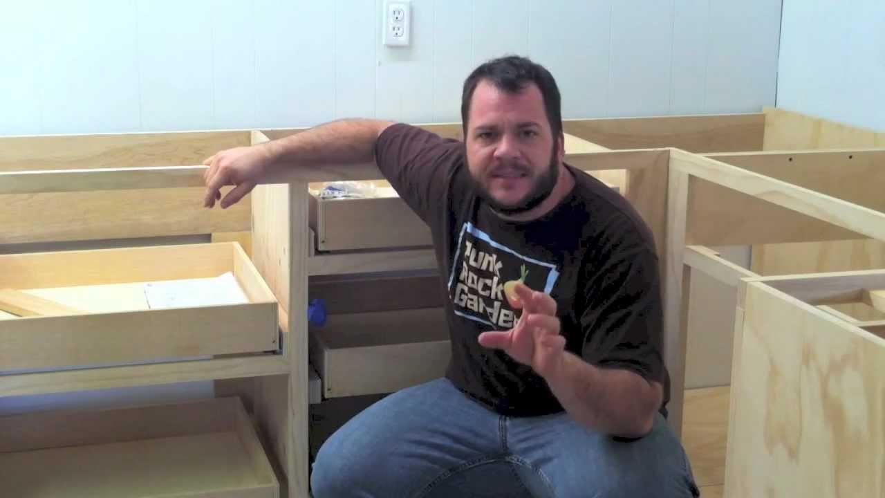 HowTo Install Blum Tandem Undermount Drawer Slides  YouTube