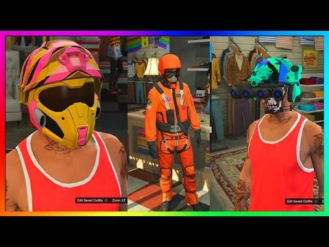 """GTA 5 Online - All NEW Clothing, Outfits, Pilot Suits & More! - """"GTA 5 ONLINE SMUGGLER'S RUN DLC"""""""