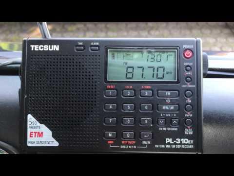 FM DX via Sporadic-E: Radio Chlef, Algeria on 87.7 MHz, Tecsun PL-310ET
