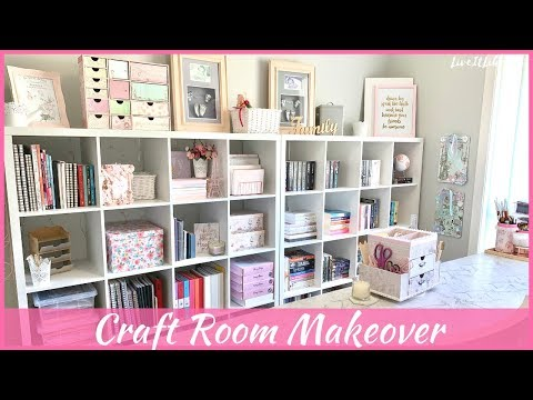 CRAFT ROOM MAKEOVER | Final Reveal & Decorated Room Tour