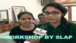 Janki Devi Memorial College girls' reaction post SLAP workshop