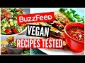 Buzzfeed Food Recipes TESTED: Vegan Taste Test