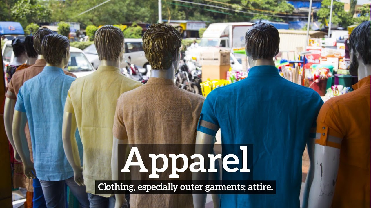 What is apparel?