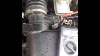 видео ДМРВ ВАЗ 2109 инжектор