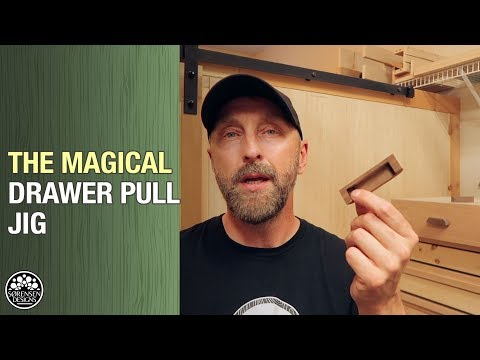 The Amazing Drawer Pull & Handle Making Jig // Woodworking