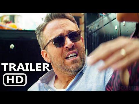 HITMAN'S WIFE'S BODYGUARD Trailer (2021) Ryan Reynolds, Samuel L. Jackson, Hitman's Bodyguard 2