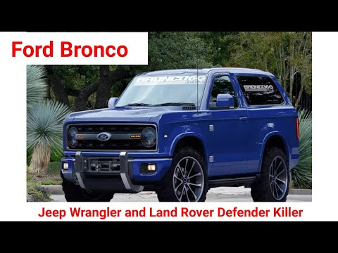 Ford Bronco 2020 - The 2020 Ford Bronco Prototype Spied In The Wild