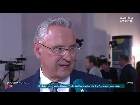 Landtagswahl In Bayern: Joachim Herrmann Am 14.10.2018