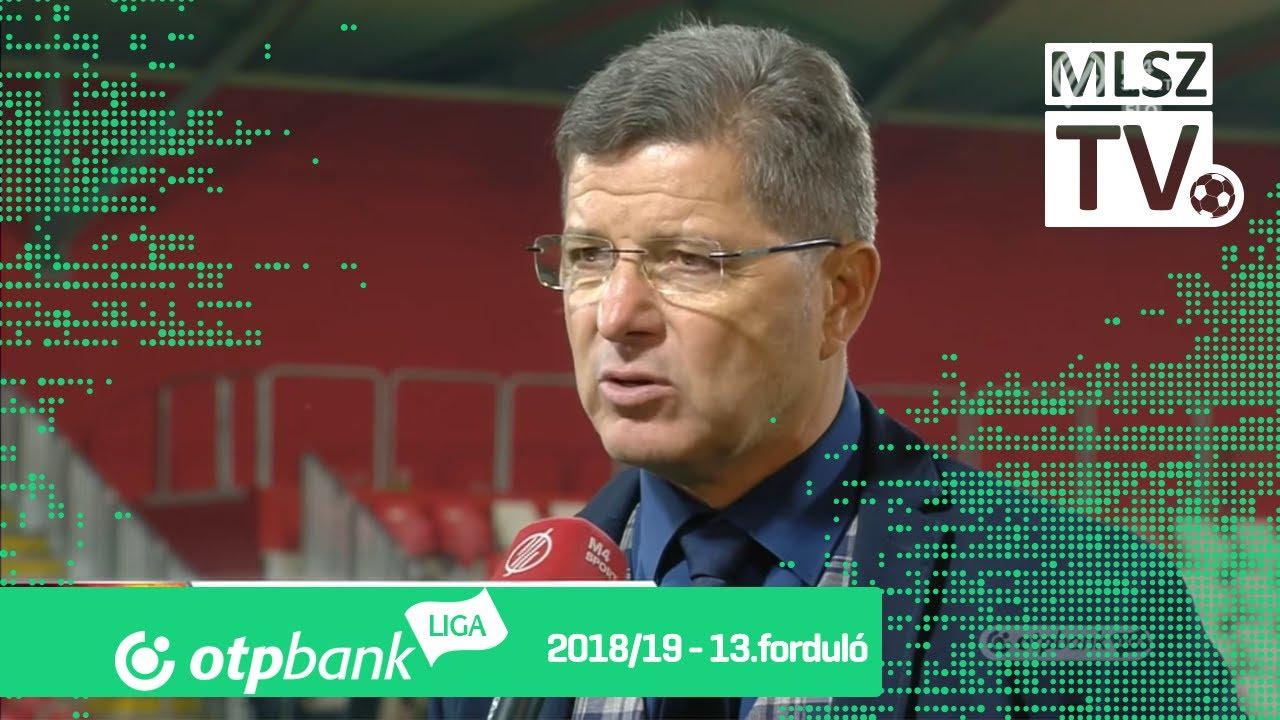 Edzői értékelések a Kisvárda Master Good - Budapest Honvéd mérkőzésen