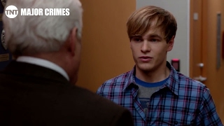 Flight Risk - The Talk | Major Crimes | TNT