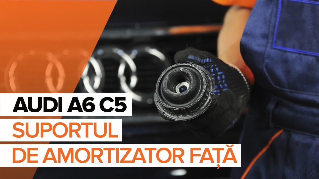 Cum se înlocuiește rulment sarcină amortizor pe AUDI A6 C5 TUTORIAL | AUTODOC