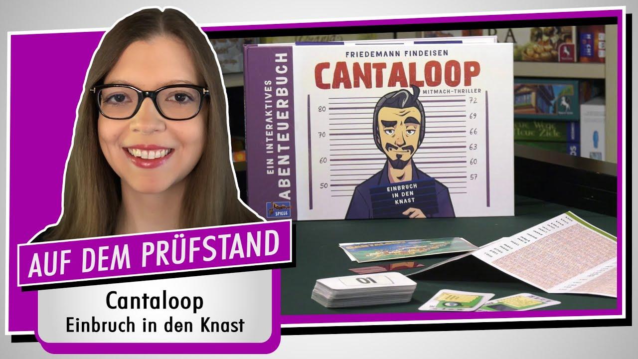 Spiel doch mal CANTALOOP - Einbruch in den Knast! - Brettspiel Rezension Meinung Test #370