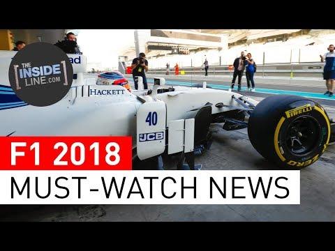 F1 NEWS 2018 - WEEKLY FORMULA 1 NEWS (20 FEBRUARY 2018) [THE INSIDE LINE TV SHOW]