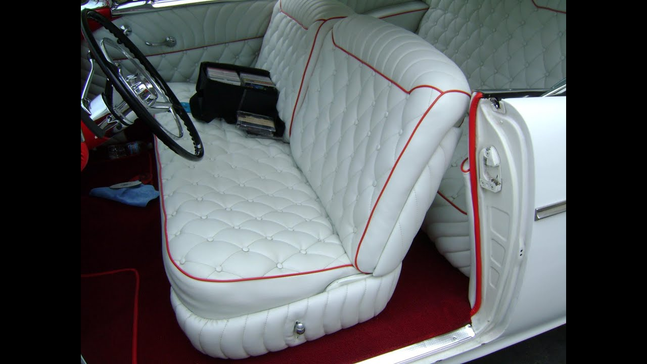 classic car upholstery by g d custom upholstery youtube. Black Bedroom Furniture Sets. Home Design Ideas