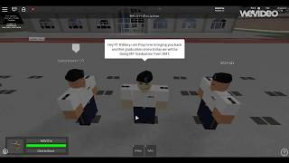 Roblox | Military Police Try out Graduation