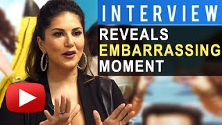 Interview sunny leone reveals embarrassing moment & future plans