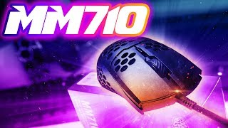 Cooler Master MM710 Gaming Mouse Review: Smol Body - BIG Holes