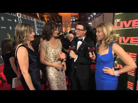 Wendy Crewson and Julie Bristow on the Canadian Screen Awards Red Carpet  CBC