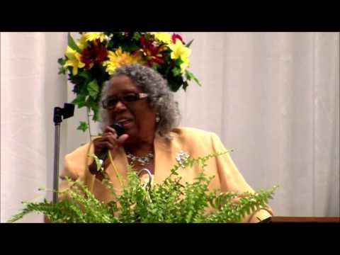 Dr. W.M. Smith singing