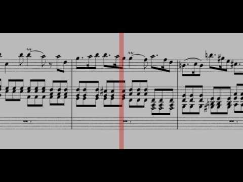 BWV 596 - Organ Concerto in D Minor (Scrolling)