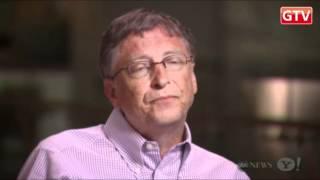 Интервью Билла Гейтса каналу Yahoo News - январь 2012