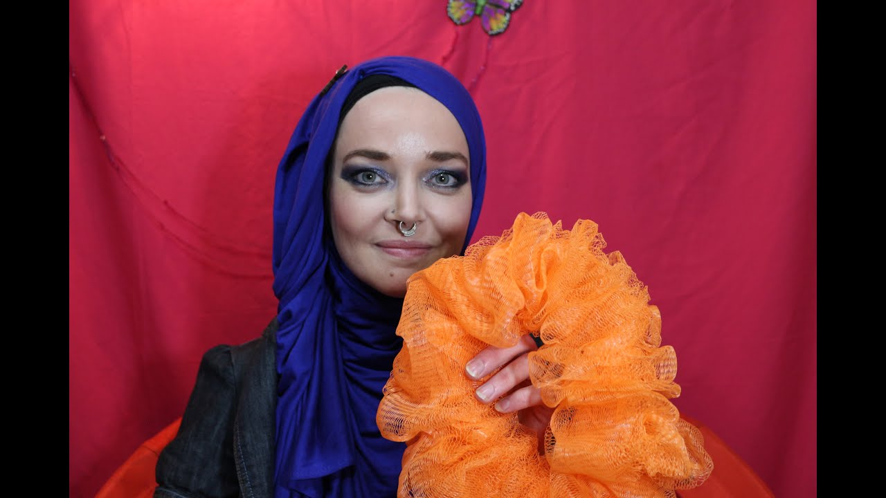 how to make your own hijab scrunchie