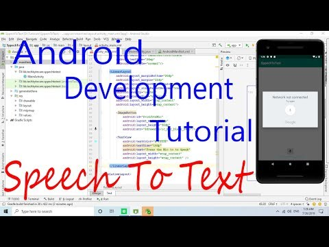 Android Development Tutorial : Speech To Text Implementation thumbnail