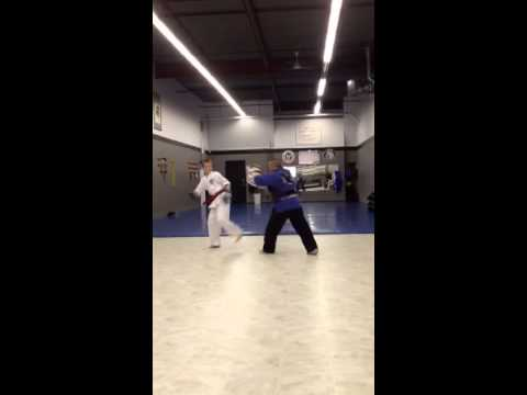Download Lucas Proteau (taller version) doing sparring drills with S