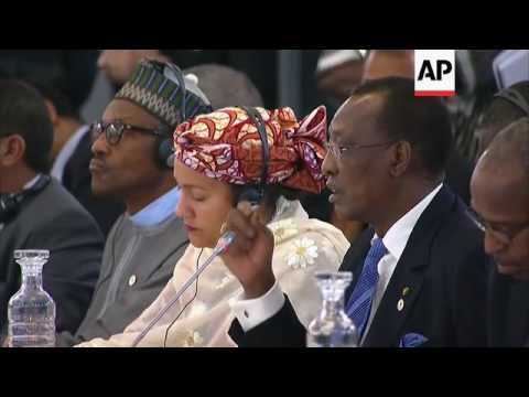 "President: Lake Chad ""catastrophe of century"""