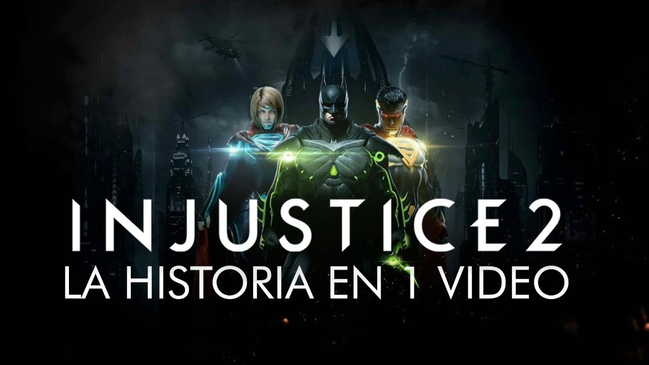 Injustice 2: La Historia en 1 Video