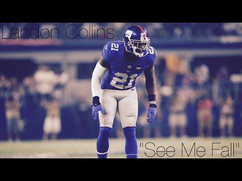 "Landon Collins|| ""See Me Fall""|| New York Giants Safety Career Highlights"