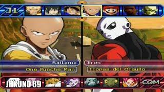 *pelones fuertes* SAITAMA TEAM vs JIREN TEAM | DRAGON BALL Z BUDOKAI TENKAICHI 3