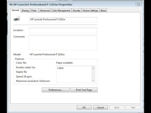 fix lỗi máy in HP laserjet P1102W in A4 mà cứ nhảy sang letter