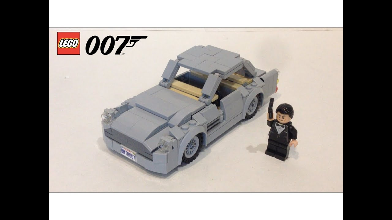 lego james bond aston martin db5 - youtube