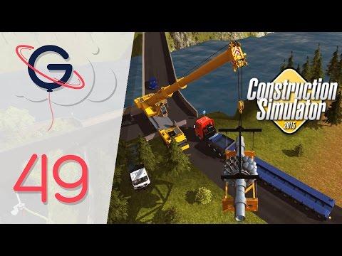 L'énorme turbine du barrage ! - Construction Simulator 2015 FR #49