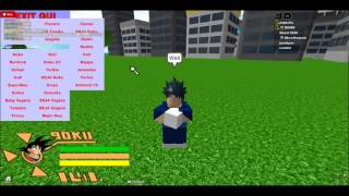 Roblox cómo hacer un salto alto y Ssj sin endemnes en:Dragon Ball - The Ultimate Adventures 2