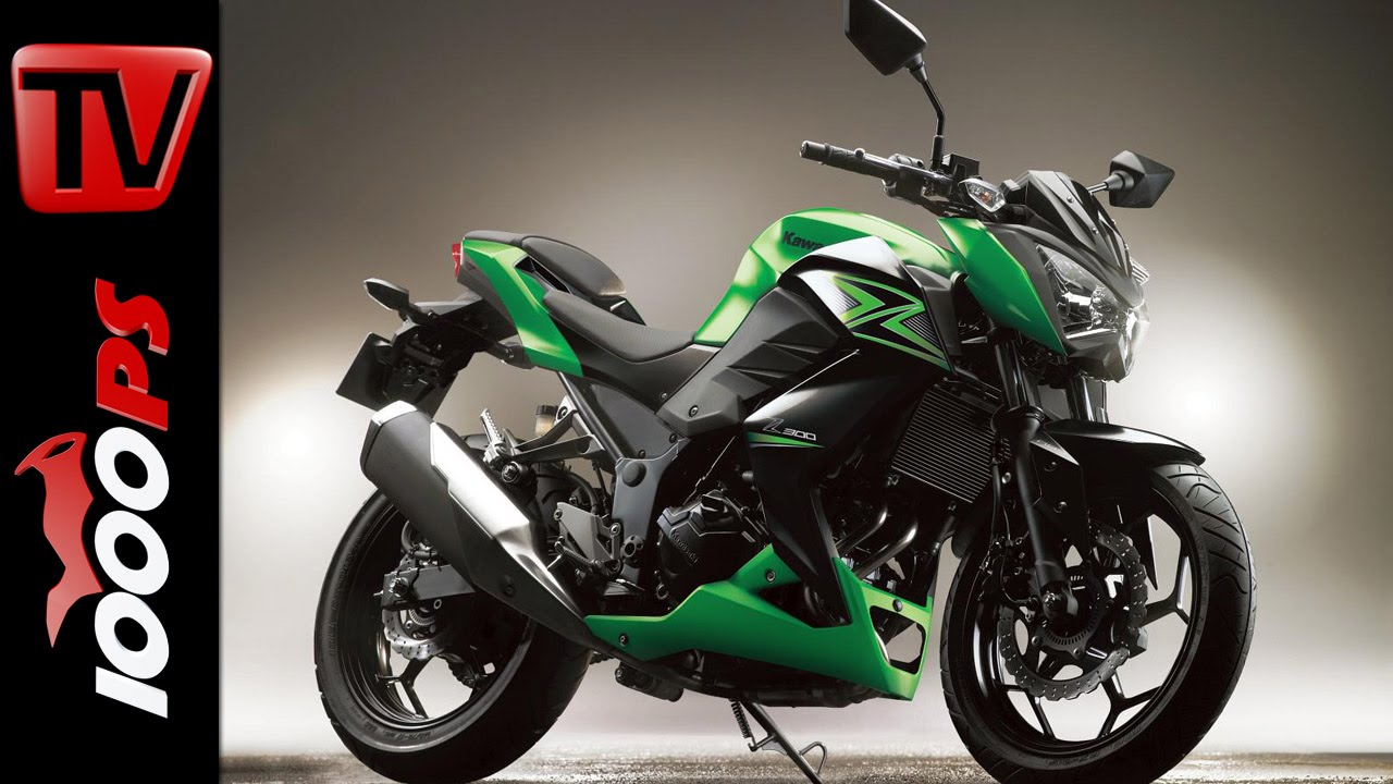 Kawasaki Z 300 2015 | Specs, Price, Release - YouTube