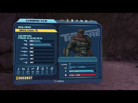 9 toes fight with Roland the Soldier Borderlands®: Game of the year edition |